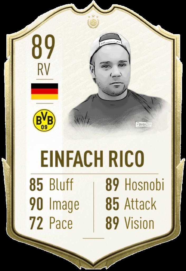 Einfach Rico: Icon: Rico gab zu Beginn der Saison überraschend seinen Rücktritt bekannt. Er ist Mitbegründer und Namensgeber der Sportart und wurde in die Hall of Fame aufgenommen.