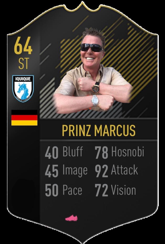 Potentieller Newcomer 2020/21: Prinz Marcus